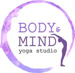 Corsi Yoga Milano Porta Genova. Yoga Navigli. Yoga Online Lezioni. Body & Mind Yoga Studio Logo