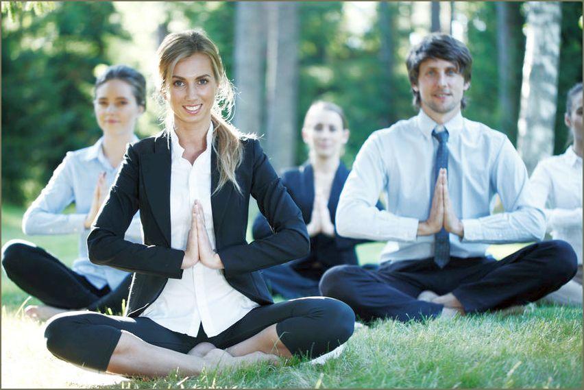 Yoga in Azienda, Milano